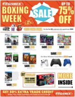 EB Games Boxing Day Flyer Sale valid December 26 – December 31, 2020