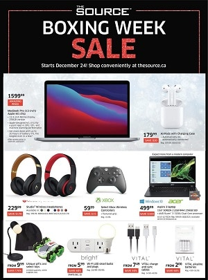The Source Boxing Day Flyer Sale valid December 24 - December 30, 2020
