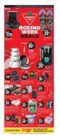 Canadian Tire Boxing Day Flyer