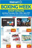 Walmart Boxing Day Flyer Sale valid December 24 - December 30, 2020