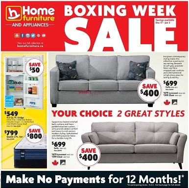 Home Hardware Boxing Week Flyer Sale valid December 21, 2020 - January 3, 2021