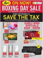 Leon's Boxing Week Flyer Sale valid December 24 - December 31, 2020